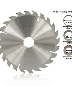 Circular Saw Blade 184mm Carbide Tipped Saw Blade For Wood Cutting 20 24 40 Teeth TCT Wood Cutting Disc