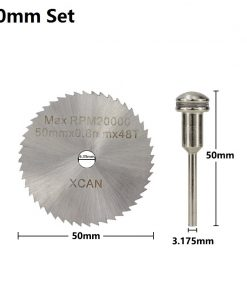 1pc 50/60mm HSS Mini Saw Blades Blade with 3.175mm Mandrel Power Tool Accessories Circular Saw Blades Wood Cutter