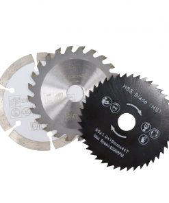 Circular Saw blade 5pcs Diameter 85mm Carbide Tipped Saw Blade Kit TCT Metal Wood Cutting Disc