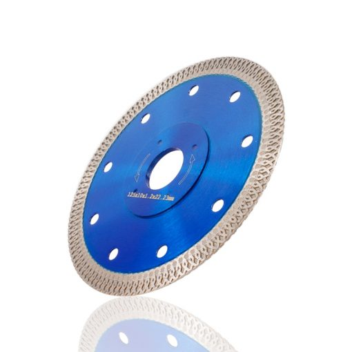 XCAN 1pc 105/115/125mm Diamond Saw Blade For Porcelain Tile Ceramic Dry/Wet Cutting Stone Cut off Saw Blade Diamond Cutting Disc