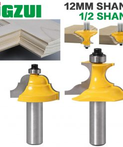 """2pc 1/2""""Shank 12mm shankWainscoting Roman Ogee & Pedestal Router Bit C3 Carbide Tipped Wood Cutting Tool woodworking router bits"""