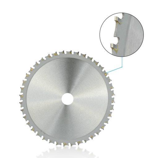 Metal Cutting Disc 136 165mm Carbide Tipped Saw Blade for Iron Steel 30 40T Circular Metal Cutting Blade