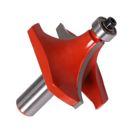 """1PC12mm Shank 1/2MM SHANK Round Over Edging Router Bit - 25/32"""",11/16"""" Radius Straight end mill trimmer cleaning flush trim corn"""
