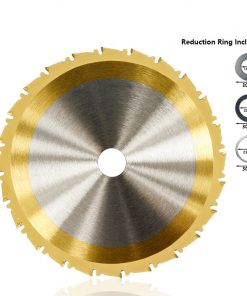 Circular Saw Blade 115 160 185 210 250mm Titanium Coated Woodworking Cutting Disc TCT Carbide Tipped Saw Blade