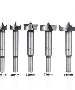 Wood Hole Cutter 15/20/25/30/35mm Forstner Drill Bit Hole Saw Cutter Woodworking Drill Bit
