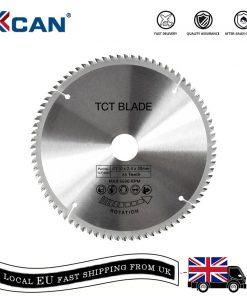 XCAN 1pc 185/210/250mm 60T/80T TCT Wood Circular Saw Blade Wood Cutting Disc Carbide TCT Saw Blade