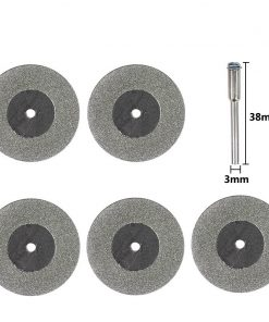 Mini Cutting Disc for Rotary Accessories Diamond Grinding Wheel Rotary Tool Circular Saw Blade Abrasive Diamond Disc