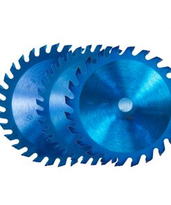 1 pc 85x10/15mm 24/30/36 Teeth TCT Wood Circular Saw Blade Nano Blue Coating Cutting Disc Carbide Tipped Saw Blade
