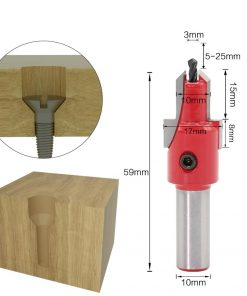 1pcs 10mm Shank HSS Woodworking Countersink Router Bit Set Screw Extractor Remon Demolition for Wood Milling Cutter