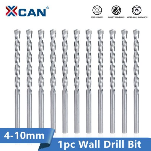 XCAN Wall Drill Bit 4/5/6/8/10mm Carbide Tipped Masonry Drill Bits