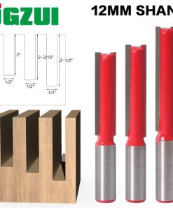 "1 pc Straight/Dado Router Bit 1/2"" Dia. X 2-1/2"" Length - 12mm Shank Woodworking cutter Wood Cutting Tool"