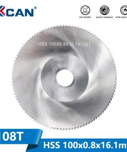 1 Piece Diameter 100mm Teeth 108 Z High Speed Steel Saw Blade Woodworking Saw Blade Metal Cutting Slitting Saw Blade