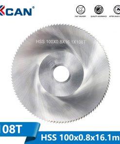 1 Piece Diameter 100mm Teeth 108 Z High Speed Steel Saw Blade Woodworking Saw Blade Metal Cutting Slitting Saw Blade