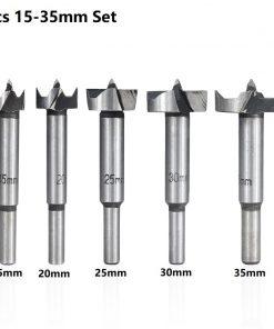 Wood Hole Cutter 15/20/25/30/35mm Forstner Drill Bit Hole Saw Cutter Woodworking Drill Bit