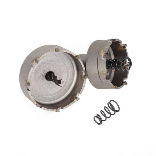 Metal Hole Drill Cutter 16-53mm Carbide Tipped Core Drill Bit Holesaw Drill TCT Drill Bit Set