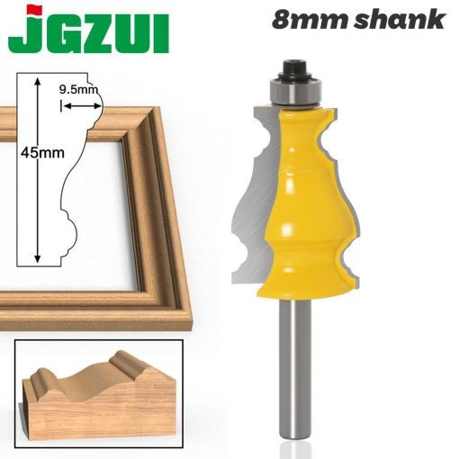 8mm Shank Picture Frame Router Bits Tenon Tungsten Carbide Line Bit Woodworking Milling Cutter for Wood