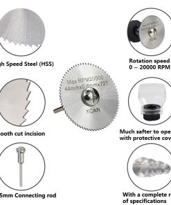 HSS Mini Saw Blade Circular Cutting Disc Power Tools Accessories Wood Metal Cutting Blade