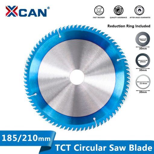 Wood Saw Blade 185/210/255mm Circular Saw Disc Nano Blue Coated TCT Blades Carbide Tipped Saw Blades Wood Cutting Disc
