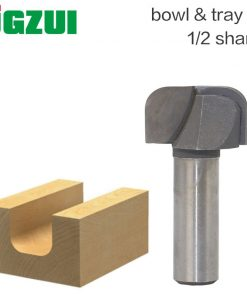 """1pcs 1/2"""" Shank Bowl & Tray Template Router Bit Tungsten Carbide endmill For Woodworking Cutting Tool wood milling cutter"""