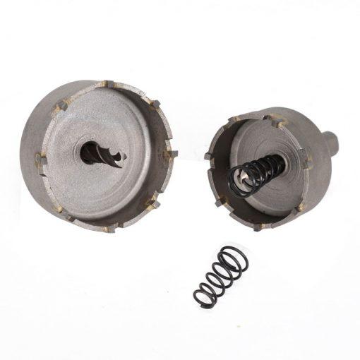 10pcs 16-50mm Hole Saw Drill Bit Set Carbide Tipped Hole Saw Cutter For Drilling Wood/Metal TCT Drill Bit Core Drill Bit