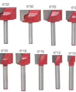 9pc CNC carbide end mill tool 3D woodworking insert router bit Tungsten Cleaning bottom end milling cutter Woodworking cutter
