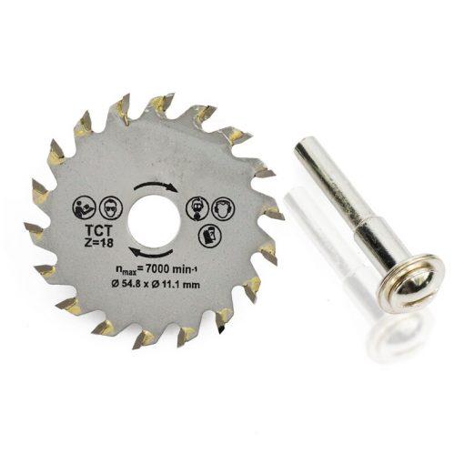 1pcs 54.8mm TCT Circular Saw Blade Wood Cutting Blade Carbide Tipped Cutting Disc