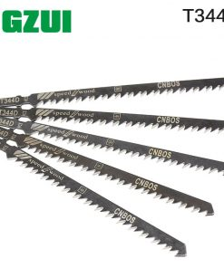 5PCS High Quality 10pcs Hcs HSS Ground Teeth Straight Cutting T-Shank Jig Saw Blade for Wood