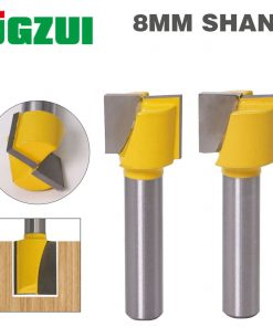 "1"" Bottom Cleaning Router Bit - 8"" Shank"