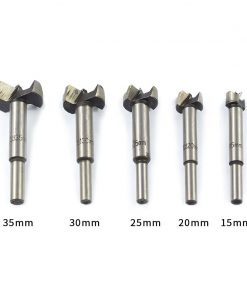 Wood Drill Bit 1pc 15/20/25/30/35mm Self Centering Hole Saw Cutter Wood Hole Drilling Tools Forstner Drill Bit