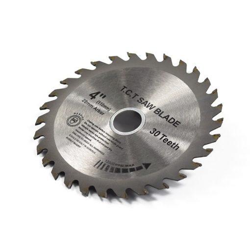 1pc 4''(110mm)x20x1.8mm 30Teeth TCT Saw Blade Carbide Tipped Wood Cutting Disc Circular Saw Blade