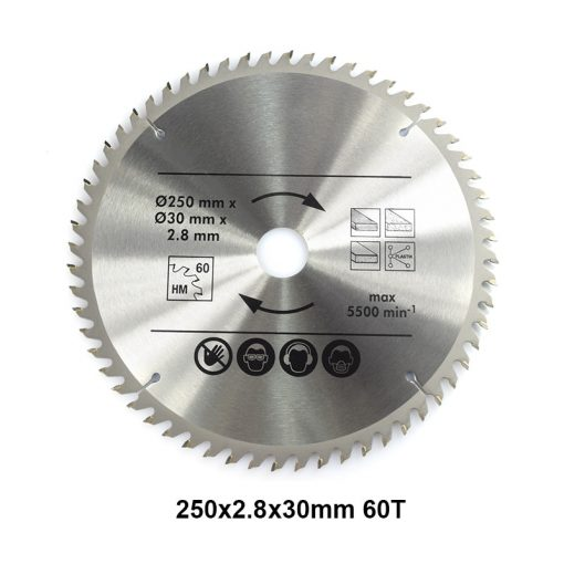 Multifunction Wood Saw Blade 2pcs 250mm 48T 60T TCT Circular Saw Blade Wood Cutting Disc