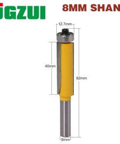1Pc 8mm shank blade flush bit Flush Trim Router Bit End Bearing For Woodworking Cutting Tool