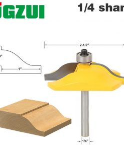 "1PC 1/4"" Shank Raised Panel Router Bit Ogee & Bead Cove Door Ogee Door Wood Cutting Tool woodworking router bits"