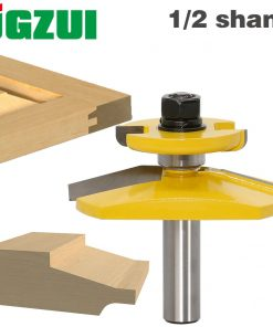 "1pc 1/2"" Shank Raised Panel Router Bit - Ogee Door -3"" Diameter door knife Woodworking cutter Tenon Cutter for Woodworking Tools"