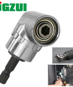 "105 Degrees 1/4"" Electric Hex Drill Bit Adjustable Hex Bit Angle Driver Screwdriver Socket Holder Adaptor tools"