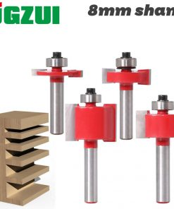"1/2"" Height X 3/8"" Depth Slot Cutter Router Bit - 8"" Shank woodworking tool router bits for wood"