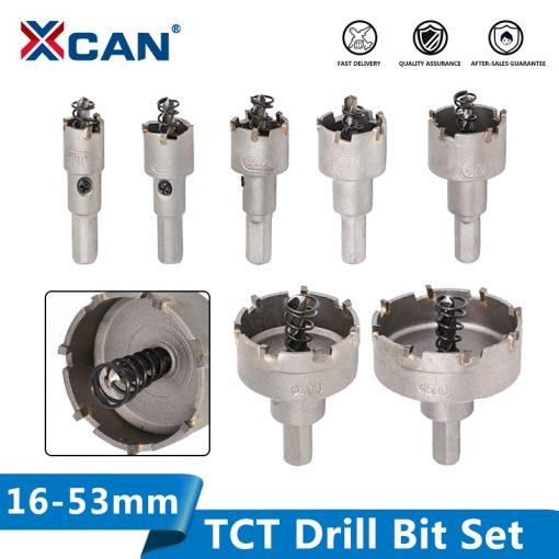 TCT Drill Bit 16-53mm Hole Saw Set Carbide Tipped Wood Metal Core Drill Bit Hole Saw Cutter