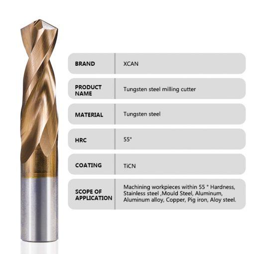 1pc Tungsten Carbide Drill Bit 1.0-12mm TiCN Coated Metalworking Monolithic Drill For CNC Lathe Machine Twist Drill Bit