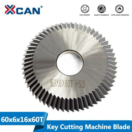 Key Cutting Machine Blade 60x6x16mm 60T Single Side Key Cutting Blade For Key Copy Machine Locksmith Tools