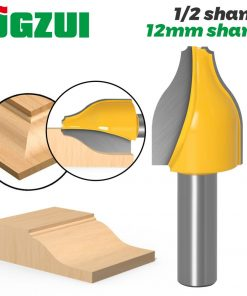 "Panel Raiser Router Bit - Vertical -Ogee Bead - 1/2"" Shank 12mm Shank door knife Woodworking cutter Tenon Cutter for Woodworking"