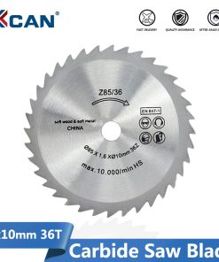 Electric Mini Saw Blade Circular Cutting Blade for Woodworking Cut Off Disc 85x10mm 36 Teeth