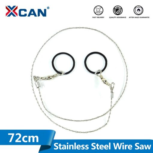 1pc 72cm Mini Stainless Steel Wire Saw Camping Saws Emergency Survival Gear Steel Wire Kits Pockets Saw Mini Saw