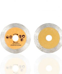 Diamond Saw Blade 50.8/54.8mm Mini Saw Disc with 6mm Shank Mandrel for Cutting Stone Circular Saw Blade