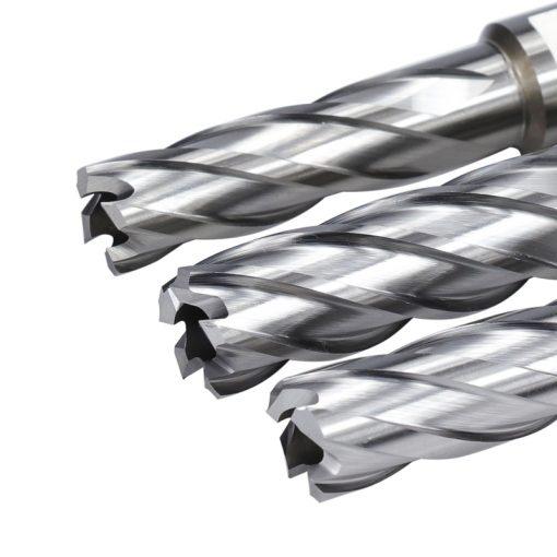 50mm Length HSS Hollow Drill Bit Weldon Shank Magnetic Drill Bit Metal Hole Cutter Core Drill Bit 15/16/17/18mm
