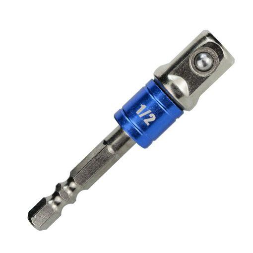"""Drill Socket Adapter 3pcs Hex Shank 1/4"""" 3/8"""" 1/2"""" Drill Bits Extension Converter Reducer Wrench Socket Adapter"""