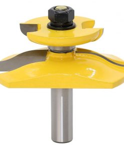 """1 pc 1/2"""" Shank Raised Panel Router Bit with Backcutter - Ogee Woodworking cutter Tenon Cutter for Woodworking Tools"""