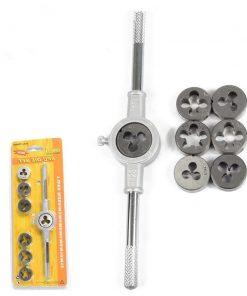 Hand Tap Wrench die metric Die Holder Twister Set Hardware Tool Metric Tap Set