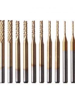 Tungsten steel coated PCB milling cutter corn milling cutter