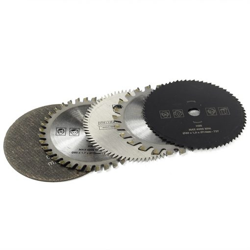5-piece small circular saw blade set