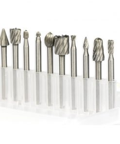 High Speed Steel Rotary Titanium Coated File Set